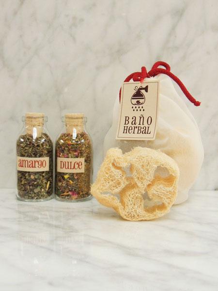 Baño Amargo/Dulce - Botella 100ml x 2 - Infusor Ducha
